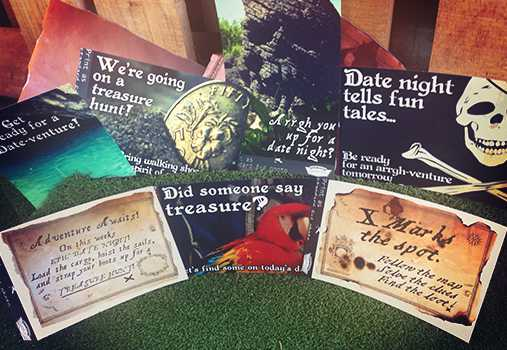 7 Date night invitations