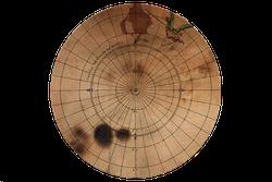Circular map - printable