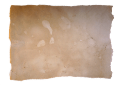 Blank map template with ripped edges