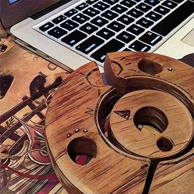 Strange puzzle design