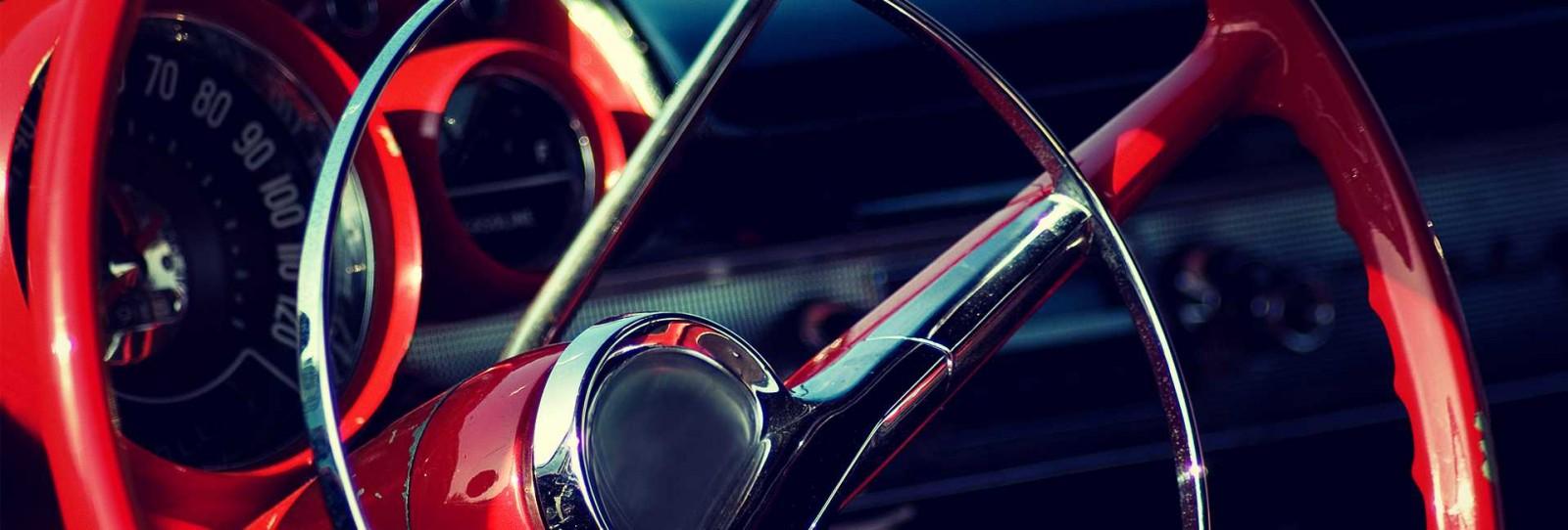 Steering wheel background