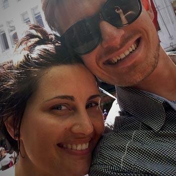 Amanda and Elliott loving life in Melbourne