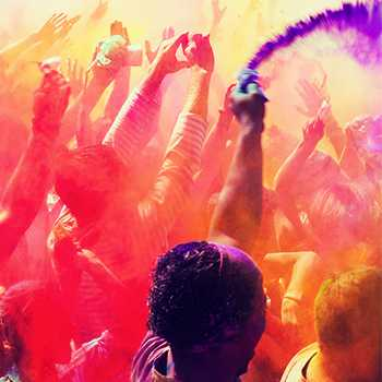 Holi color festival date