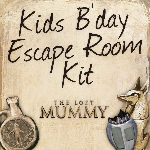 Kids escape room kit