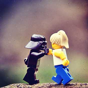 Lego photography Idea