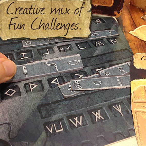 It is a picture of Lively Free Printable Escape Room Kit