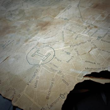Map made in Google Maps