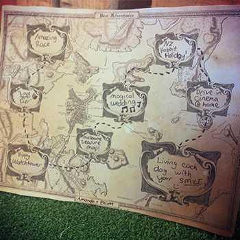 Memories map