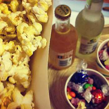 Popcorn for the date night
