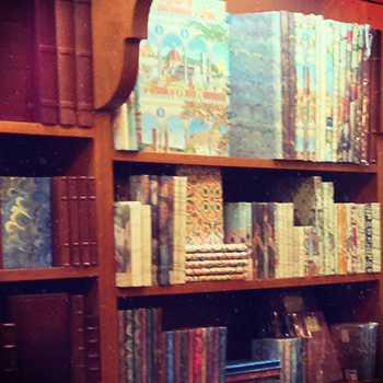Scavenger hunt clue - bookshop