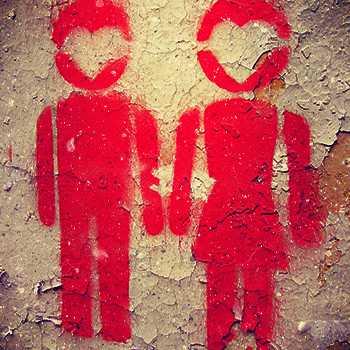 Stencil Couple