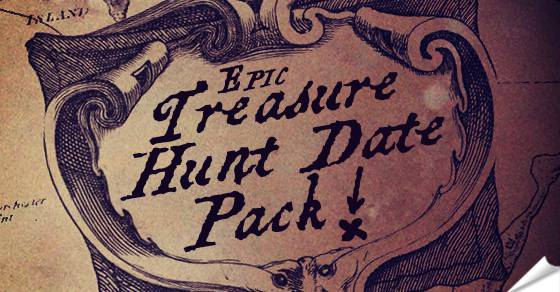 The Ultimate Treasure Hunt Date Game Printable Map Pack