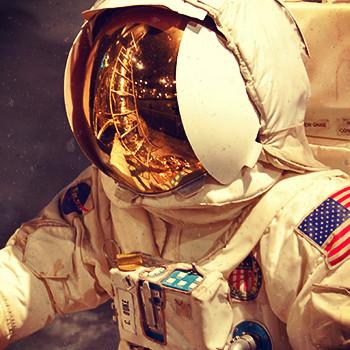 Choose an unusual job like an astronaut